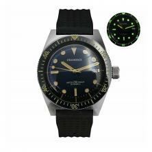 Proxima Sixty-Five Men Vintage Diving Watch Stainless Steel Automatic Watch Box type Mineral glass