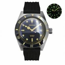 Proxima 6200 Men Vintage Diving Watch Stainless Steel Automatic Watch Box type Mineral glass