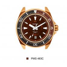 Proxima Bronze Soil/Earth NH36 Tuna Diver Automatic Wristwatch MarineMaster CUSN8 Bronze Pre-order